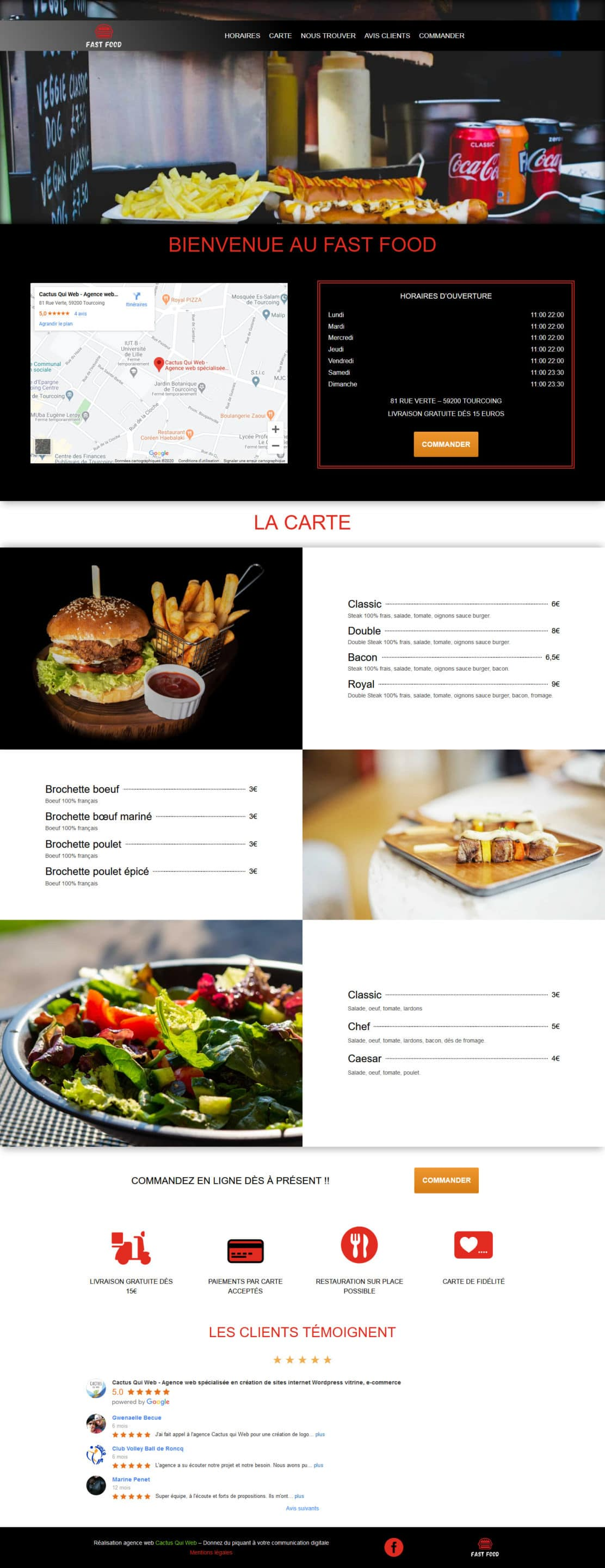 Screenshot 2020 05 02 Restauration rapide – Version 1 Restaurant
