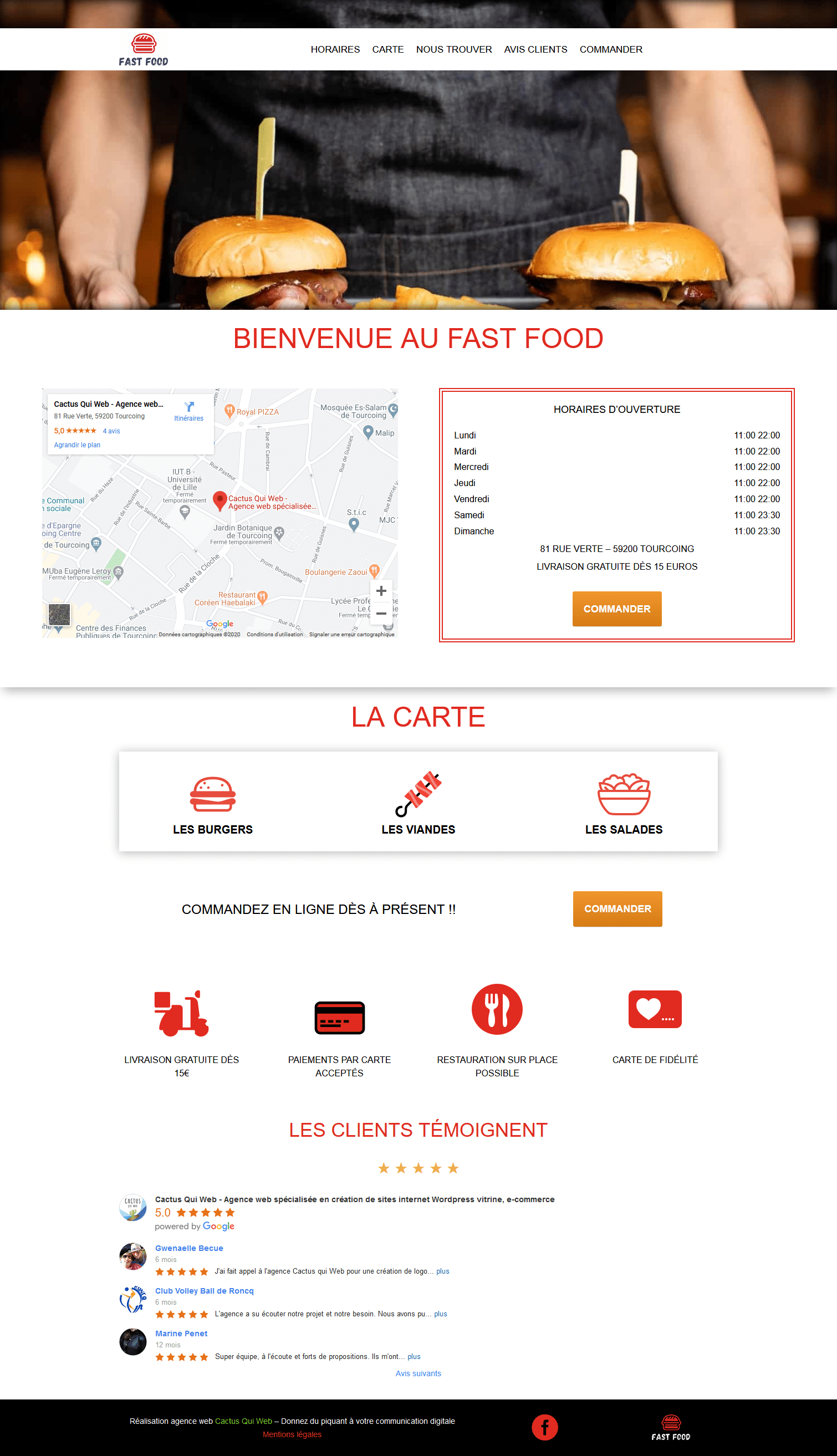 Screenshot 2020 05 02 Restauration rapide – Version 2 Restaurant