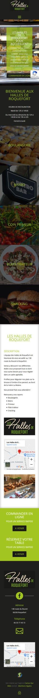 Accueil Smartphone Les Halles de Roquefort