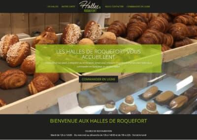 Les Halles de Roquefort – Site e-commerce