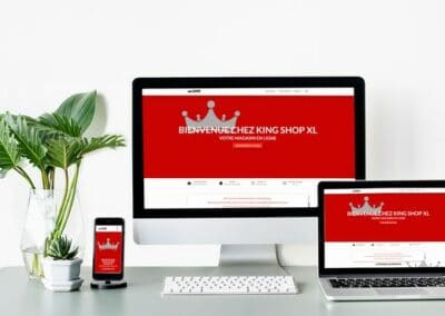 King Tabac – Site e-commerce